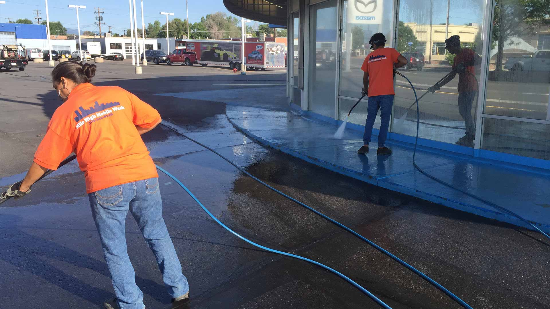 Home | Lakewood Fleet Washing, Pressure Washing and Graffiti Removal