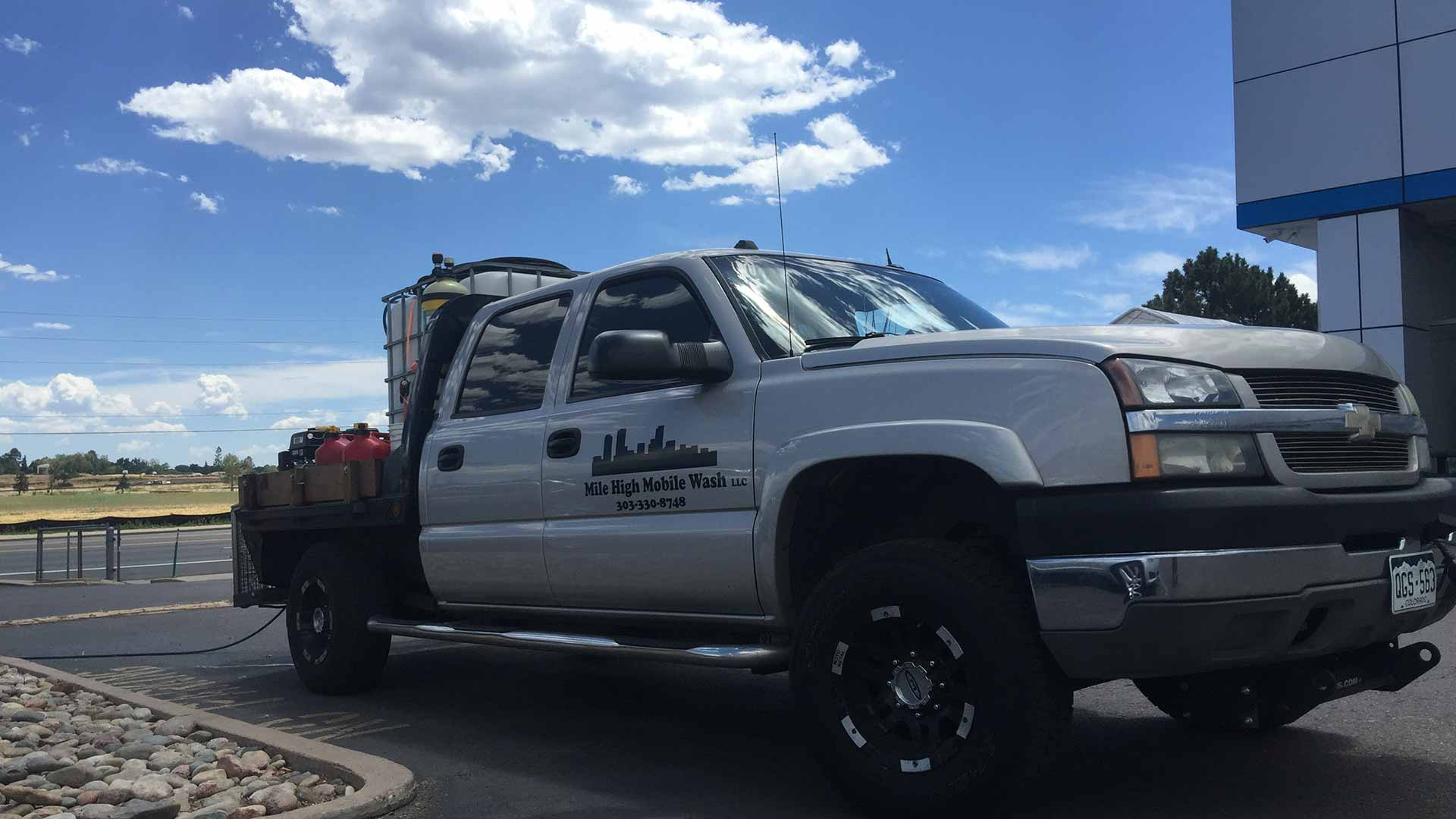 Mile High Mobile Wash: Fleet Washing, Pressure Washing and Graffiti Removal in Denver, Lakewood and Aurora